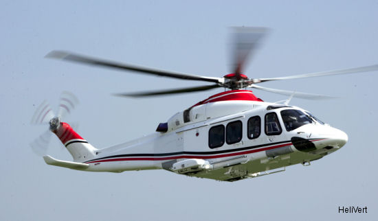 HeliVert to supply three VIP-model AW139 to Exclases Russia