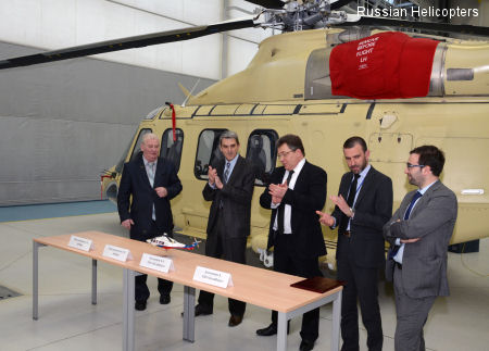 HeliVert gets AR IAC approval for production of commercial AW139