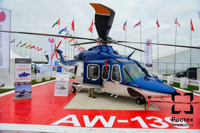Russian Helicopters and AgustaWestland open service center