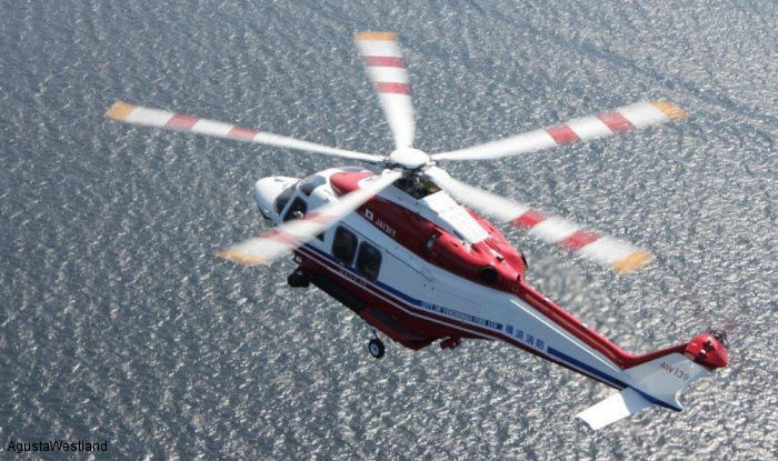 Japan's Iwate Prefecture Orders an AW139 Helicopter for Firefighting