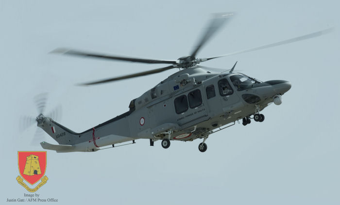 Armed Forces of Malta Celebrate The Delivery Of Their First AW139 Helicopter