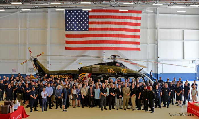Maryland State Police Takes Delivery of Tenth AW139