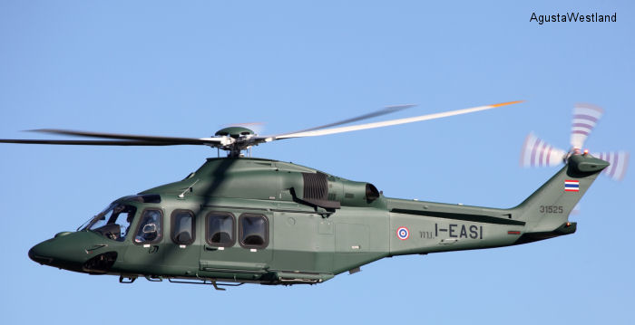 Royal Thai Army Takes Delivery of Two AW139 Helicopters