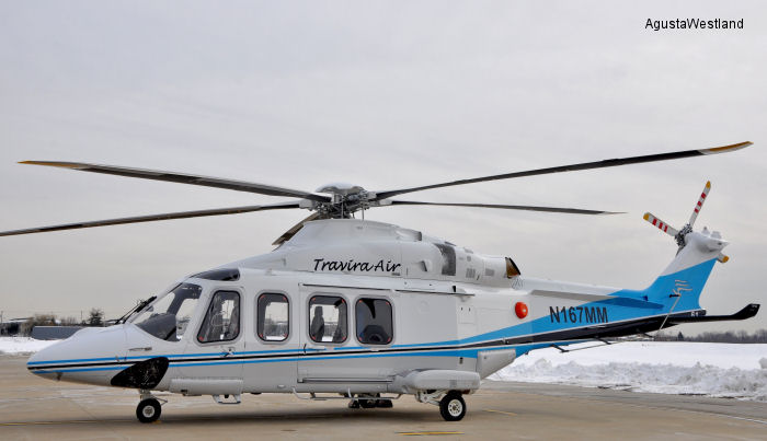 Travira Air from Indonesia received two AW139 for offshore passenger transport operations