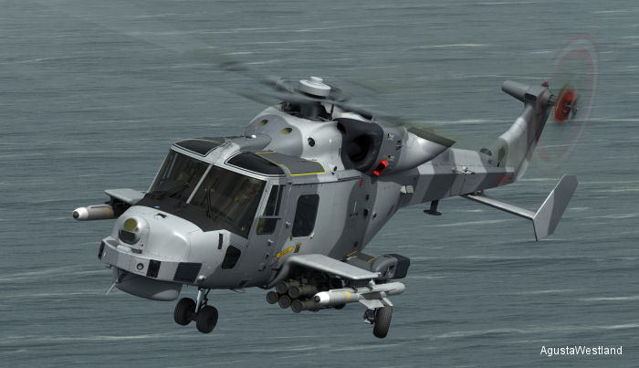 FASGW Missile Integration for Royal Navy AW159