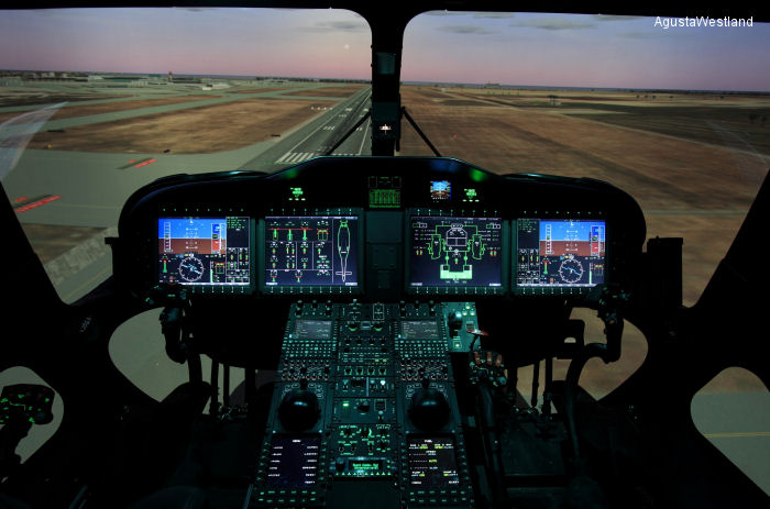 Gulf Helicopters Orders An AW189 EASA CS-FSTD(H)  Level C Full Flight Simulator From AgustaWestland