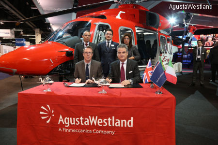 OHI Group Signs for Four AW139 and Five AW189 Helicopters