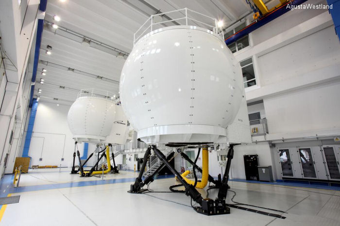 First AW189 full-flight simulator ready in Italy