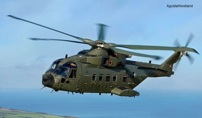 25 RAF Merlin Mk.3/3A are being transferred to the Royal Navy as Mk.4/4A to replace the <a href=/database/modelorg/235/>Sea King HC.4</a>
