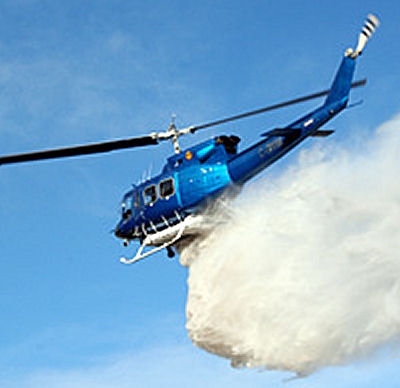 Firefighter requirements satisfied with new helitank firefighting system
