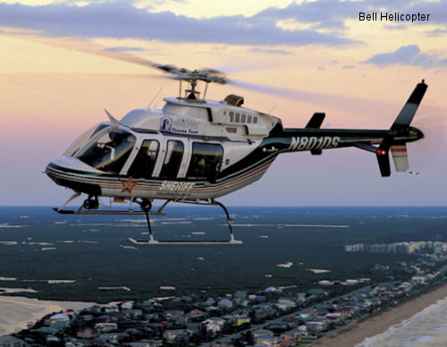Bell Helicopter Offers New Bell 407 Polycarbonate Windshield