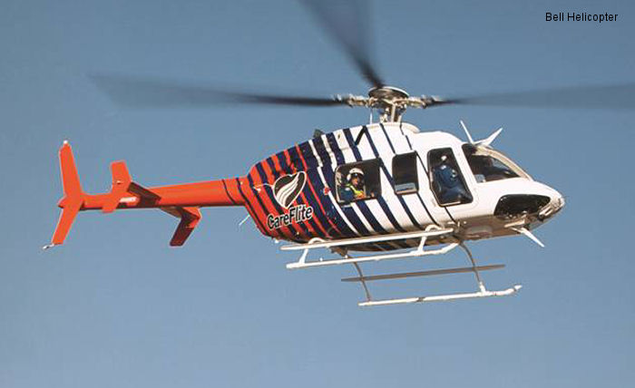 Bell Helicopter Announces Service of Four Bell 407GXs for DFW CareFlite