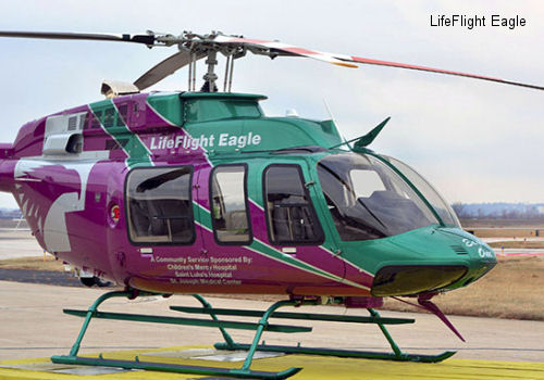 LifeFlight Eagle places two new Bell 407GX helicopters in service