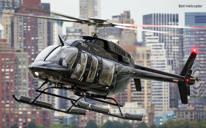 Bell Helicopter Announces New VIP Bell 407GX Customers and Deliveries in the United States