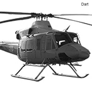 Wildcat Helicopters to be DART Launch Customer for the 39-inch Extended Height Gear for Bell 412 Aircraft