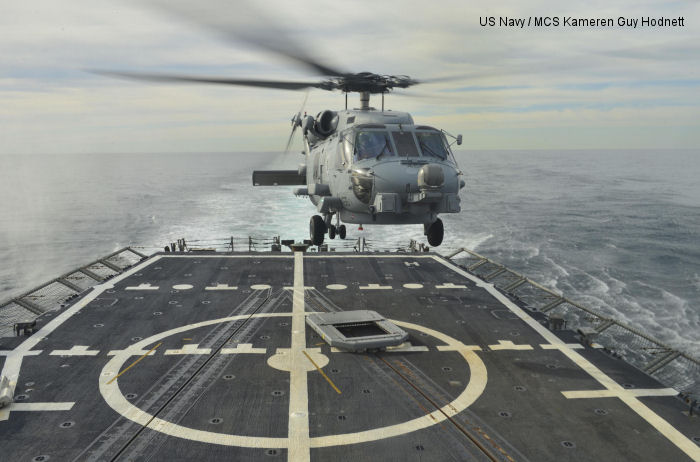 USS Halyburton Assists in Rescue of Panamanian Crashed Helicopter