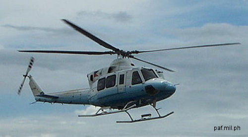 Bell Helicopter Finalizes Agreement for Eight Bell 412EPs to Canadian Commercial Corporation to be Used by Philippine Department of National Defense