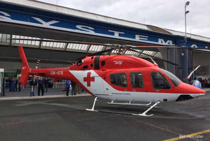 Bell Helicopter to Display First Slovakian Bell 429 EMS Aircraft and First Bell 407GX in the Czech Republic at EHS