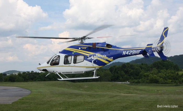 Bell Helicopter Announces Delivery of Bell 429 to HALO-Flight