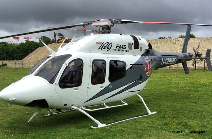 Bell Helicopter Embarks on European Demo Tour with HEMS Configured Bell 429