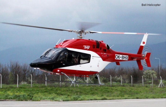 Bell Helicopter Delivers Two Commercial Bell 429s in Turkey from Prague Customization Facility