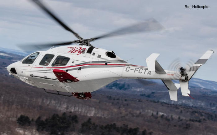 Transport Canada and the National Civil Aviation Agency of Brazil Certify the Bell 429WLG