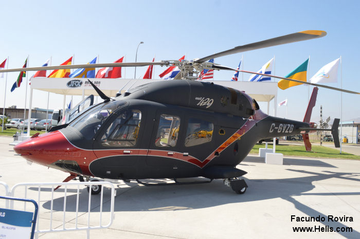 The Bell 429WLG at <a href=/database/airshow/FIDAE_2014/>FIDAE 2014</a>