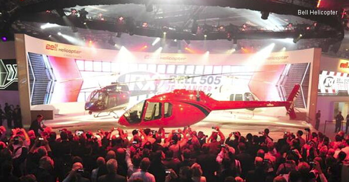 Bell Helicopter Unveils the Game Changing Bell 505 Jet Ranger X during HELI-EXPO 2014