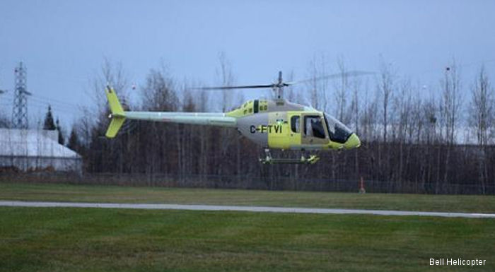 The Bell 505 Jet Ranger X helicopter maiden flight took place at the  Mirabel, Québec manufacturing facility, Canada on November 10, 2014.