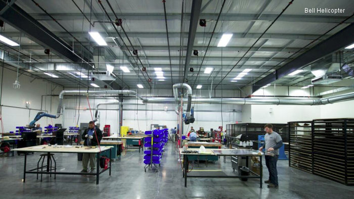 Bell Helicopter Opens New Composite Facility in Broussard, LA