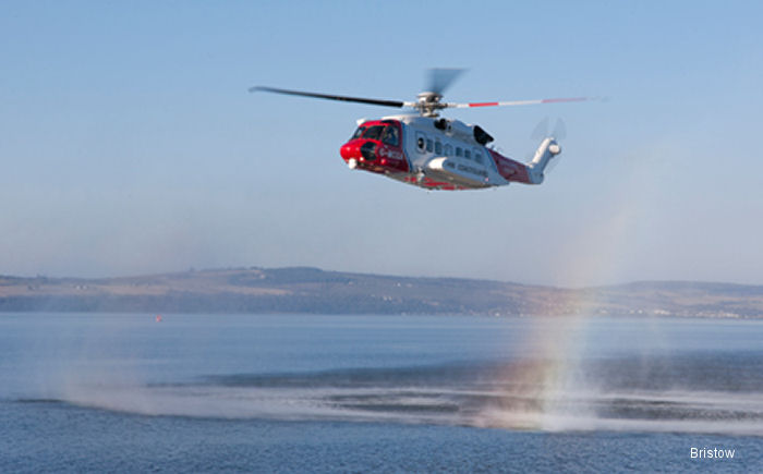 Bristow Celebrates First Anniversary of Search and Rescue in Northern Scotland