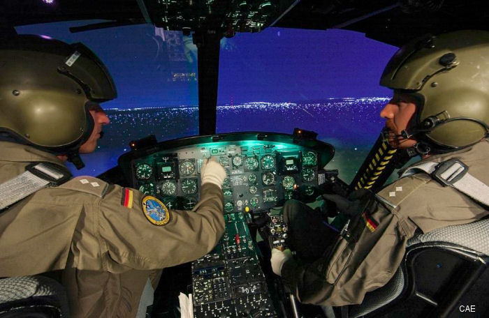 CAE was awarded support services contract for the German Army Aviation School simulators in Bueckeburg.