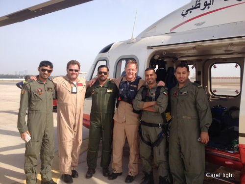 CareFlight celebrates half a decade of making a difference in Abu Dhabi