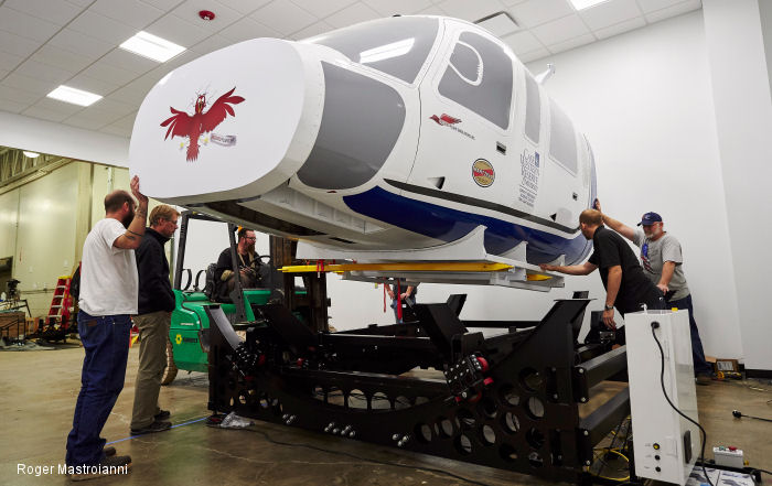 Case Western Reserve University in Ohio will soon be training in a new simulator that creates the sense of treating critically injured patients from takeoff to landing.