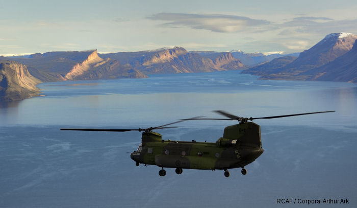 AETE team tests Chinooks in Canada's North