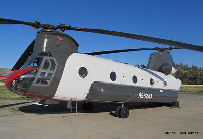 Billings Flying Service Earns the First FAA Type Certificate for the Chinook CH-47D Helicopter