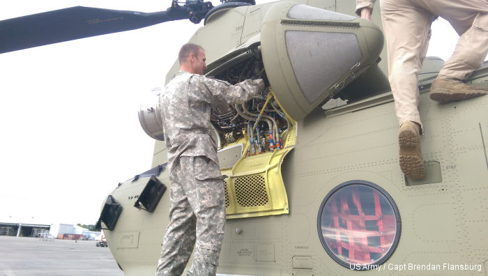New York Army National Guard Move Up to CH-47F