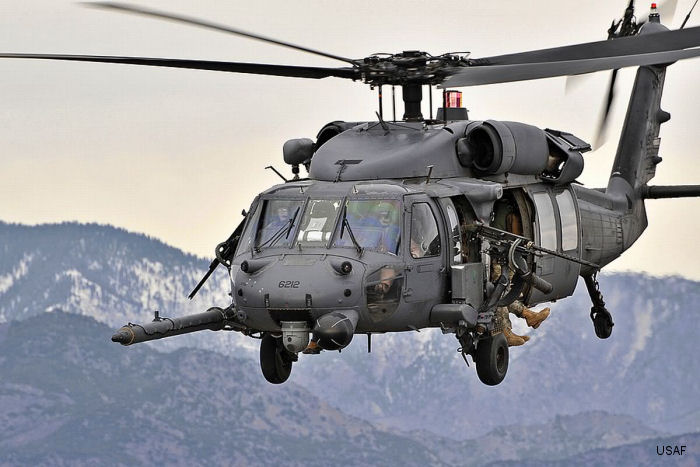 Sikorsky/Lockheed-Martin new HH-60W will replace the current <a href=/database/modelorg/772/>HH-60G Pave Hawk</a> fleet