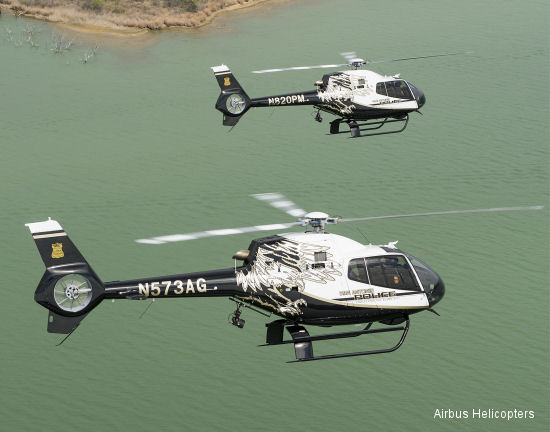 San Antonio Police Department puts two new Airbus Helicopters EC120 into service, now operates all-Airbus Helicopters fleet