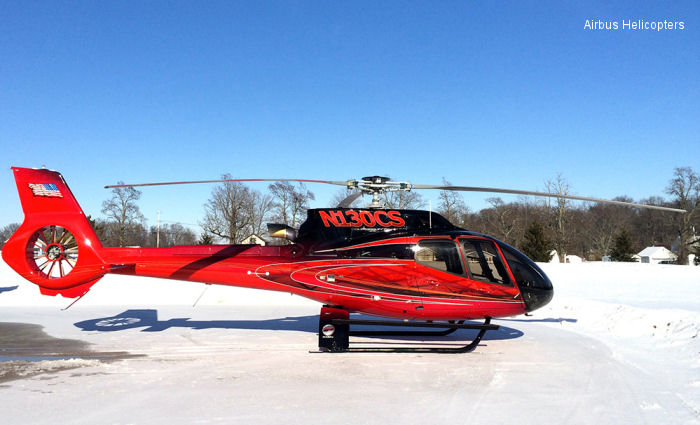 Indiana Helicopters VIP EC130T2 to be showcased at Heli-Expo 2014