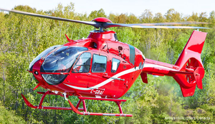 Airbus Helicopters Canada Delivers EC135 to Blackcomb Aviation