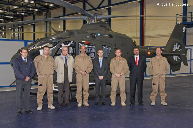 Spanish Ministry of Defense Becomes the World's Leading Operator of the Airbus Helicopters EC135 Helicopter for military use