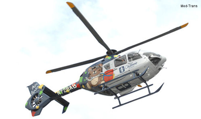 Med-Trans Corp. takes delivery of 25th EC135 for air medical transport