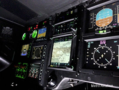 Metro Aviation becomes first to STC new Garmin GTN System for rotorcraft Single Pilot IFR (SPIFR)