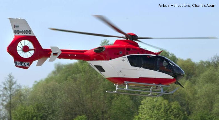 Airbus Helicopters completes deliveries of EC135s to Turkey THK Gökçen Aviation for emergency medical services