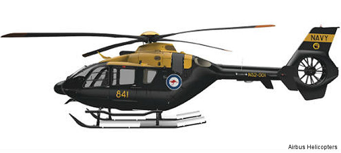 15 EC135 T2+ were choosen as the new Helicopter Aircrew Training System (HATS) for train Australian Army and Navy pilots