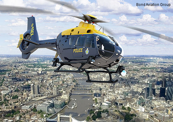 Bond Helicopters awarded contract for new police mission systems