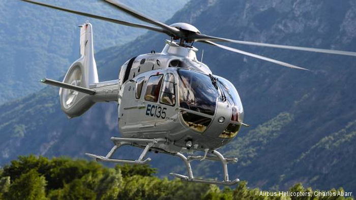 The European Aviation Safety Agency (EASA) certified the new Airbus Helicopters EC135 T3/P3