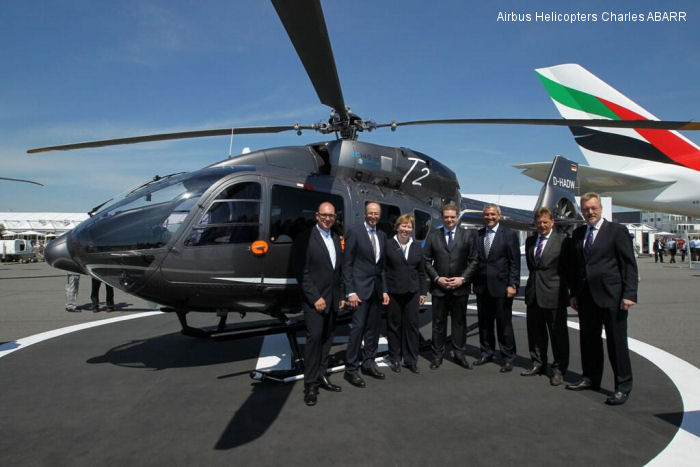 ILA Berlin Air Show 2014. Service agreement worth 25 million euros over ten years