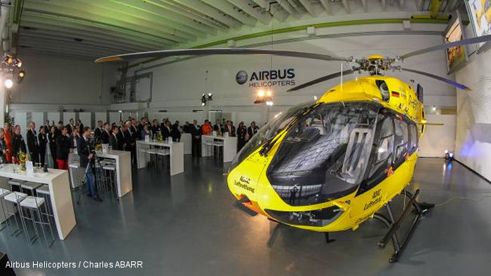 ADAC Luftrettung Receives Its First EC145 T2